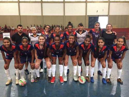 Time de Futsal feminino de Cordeirópolis conquista medalha nos Jogos Regionais