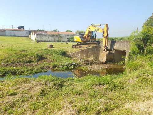 Prefeitura de Limeira inicia limpeza e desassoreamento