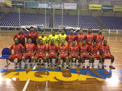 Futsal da Uniara vence amistoso contra Porto Ferreira por 4 a 0