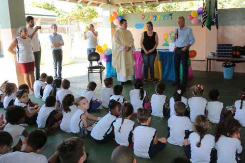 Prefeito de Limeira participa da celebração dos 46 anos da Creche São Vicente de Paulo