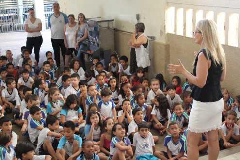 Escola Municipal Levy recebe os Chromebooks