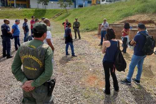 Capacitação a Pelotão Ambiental aborda educação ambiental