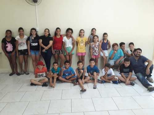 A oficina de férias já começou em Cordeirópolis