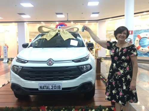 Limeirense ganha Fiat Toro do Pátio Limeira Shopping