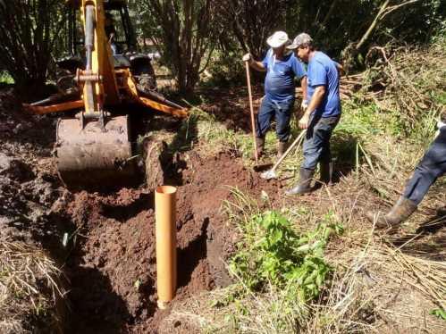 Vila Nova Brasília e Bosque das Amoreiras recebem nova rede coletora de esgoto