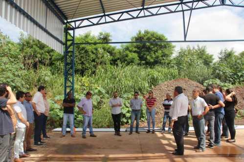Vereadores de Cordeirópolis visitam obras que estão em andamento no município