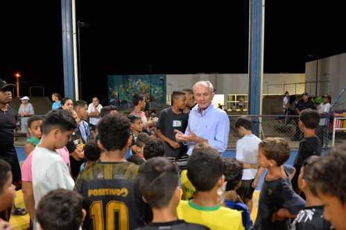 Nova parceria com comunidade revitaliza quadra no Geada em Limeira