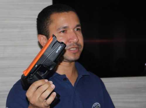 Spark: a nova arma menos letal da Guarda Municipal de Cordeirópolis