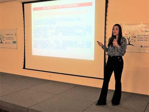 Palestras sobre velhice e leis encerram Semana da síndrome de Down em Limeira