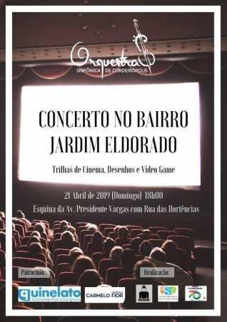 Orquestra Sinfônica de Cordeirópolis fará o primeiro concerto no Jardim Eldorado