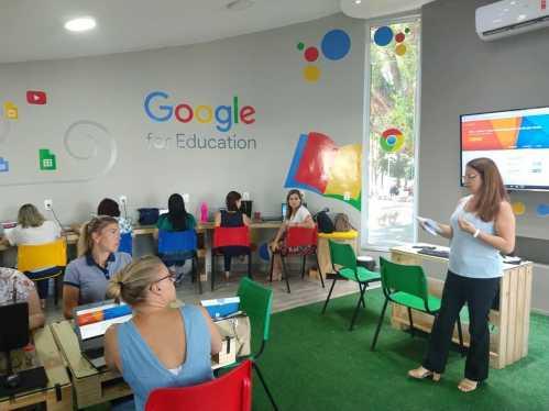 Capacitação Google reúne mais de 30 educadores da rede Municipal de Cordeirópolis