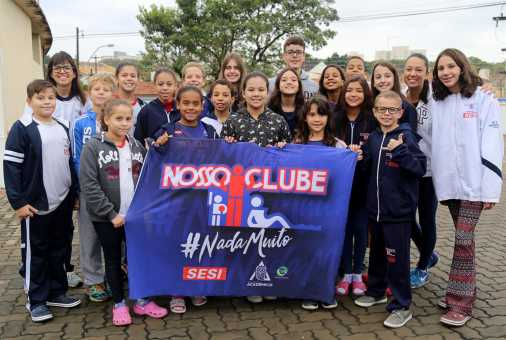 Natação do Nosso Clube conquista 28 medalhas no Regional de Pré-Mirim a Petiz