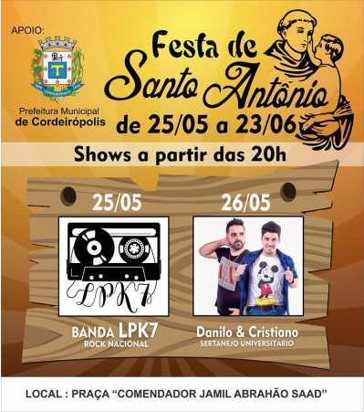 Começa neste fim de semana a famosa festa de Santo Antônio