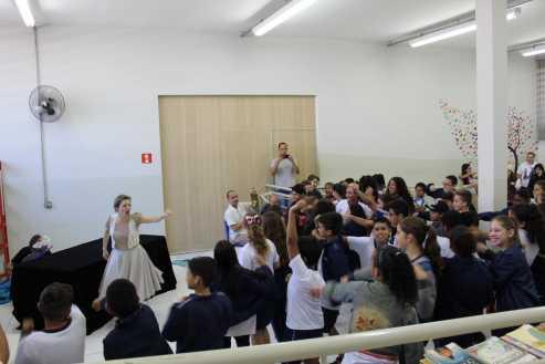 Biblioteca Municipal de Cordeirópolis recebe contações de histórias