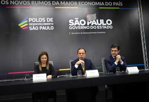 Governo de SP anuncia 11 polos de desenvolvimento econômico com pacote de benefícios setoriais para a indústria