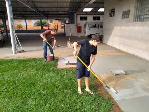 Funcionários da Elektro promovem reformas na APAE Limeira