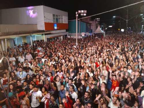 Recorde de público marca o encerramento dos shows em comemoração aos 71 anos de Cordeirópolis