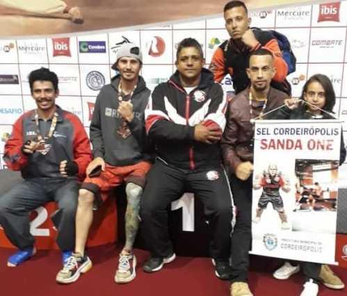 Equipe de Kung Fu participa de Campeonato Paulista e volta com sete medalhas para Cordeirópolis