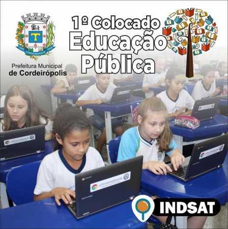 Ensino de Cordeirópolis se transforma e é referência na região