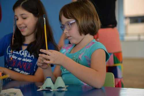 Tartarugas são tema de atividade na Biblioteca Pedagógica em Limeira