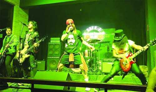 4ª edição do Projeto Live Music do Nosso Clube em Limeira tem tributo ao Guns N' Roses