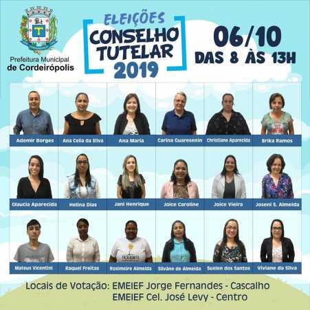 Eleições para Conselho Tutelar acontecem no dia 06 de outubro