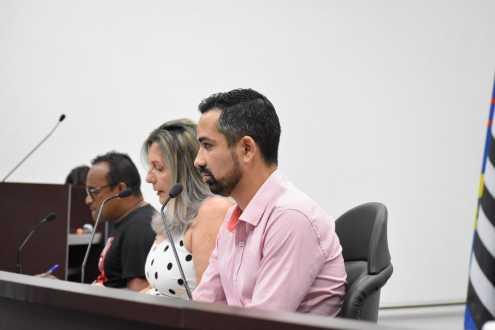 Parlamentares de Cordeirópolis apresentam indicações durante a 28ª Sessão Ordinária
