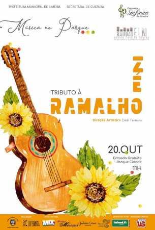 Bandas da Escola Livre de Música tocam Tributo a Zé Ramalho neste domingo
