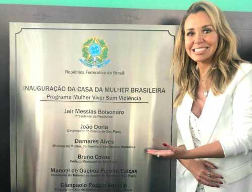 Renata Banhara prestigia inauguração da Casa da Mulher Brasileira em SP