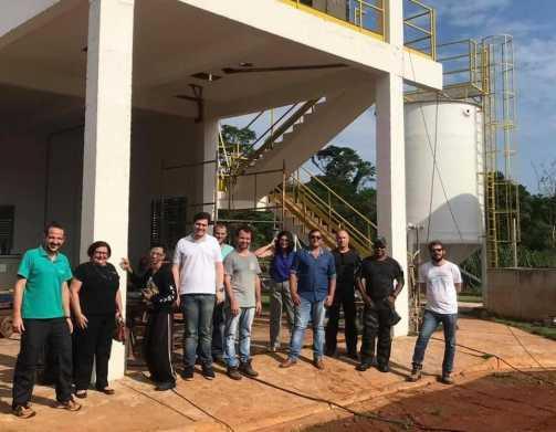 Conselho Municipal de Meio Ambiente visita obras de Cordeirópolis
