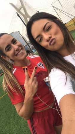 Tainá Grando é um dos destaques da Super Copa feminina do canal Desimpedidos