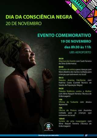 Dia da Consciência Negra estará em destaque na UBS Aeroporto em Limeira