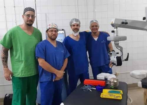 Mutirão de cirurgia de catarata atende 30 pacientes em Cordeirópolis