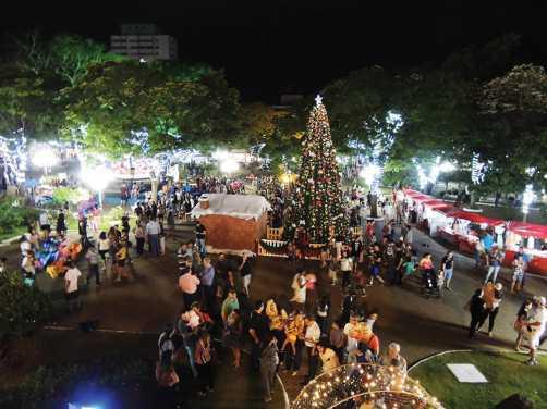 Decoração natalina e programação artística tem início nesta sexta-feira em Limeira