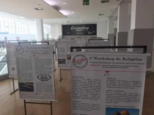Shopping Nações Limeira sedia exposição sobre intolerância religiosa