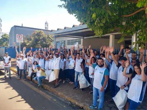 Prefeitura reúne moradores e voluntários em programa de coleta seletiva em cinco bairros