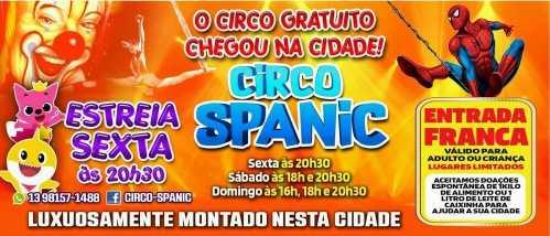 O Circo chegou em Cordeirópolis