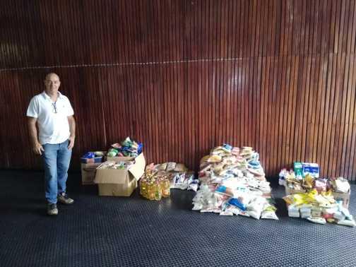 Festival de Ginástica no Nosso Clube arrecada mais de 500 quilos de alimentos