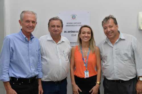 Prefeitura entrega reforma da UBS Cecap em Limeira