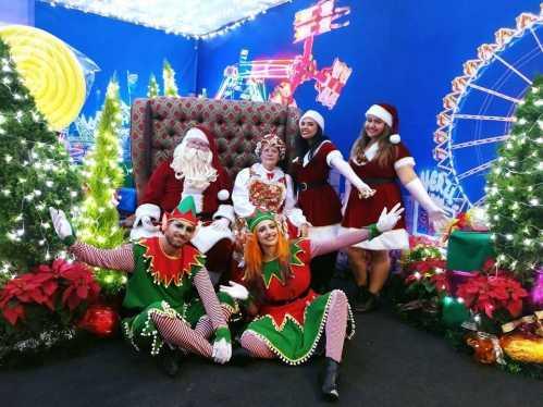 Chegada do Papai Noel abre as festividades de Natal em Cordeirópolis