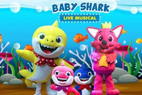 Baby Shark Live Show chega ao Shopping Prado Boulevard