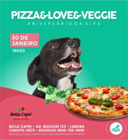 ALPA comemora 24 anos com jantar pet friendly