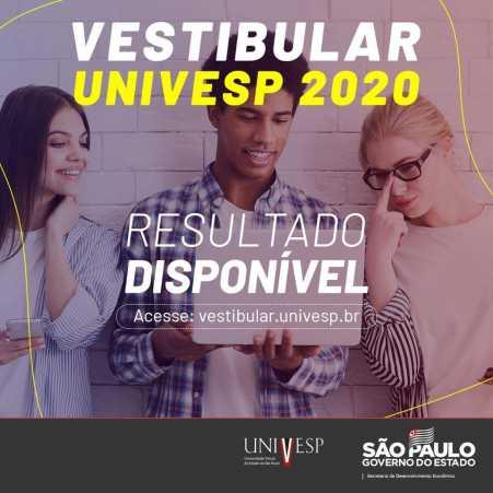 Confira o resultado dos aprovados no vestibular UNIVESP