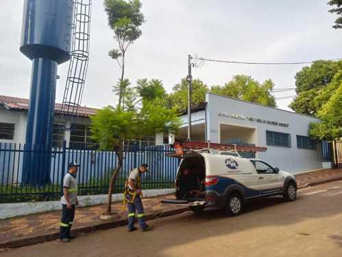 Prefeitura de Cordeirópolis prepara escolas para volta às aulas