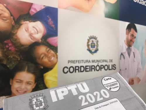 Você sabia que a Prefeitura de Cordeirópolis oferece gratuidade no IPTU para idoso com renda de até um salário mínimo?