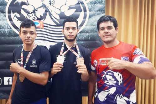 Atletas de Cordeirópolis conquistam medalhas no Campeonato Paulista de luta de braço