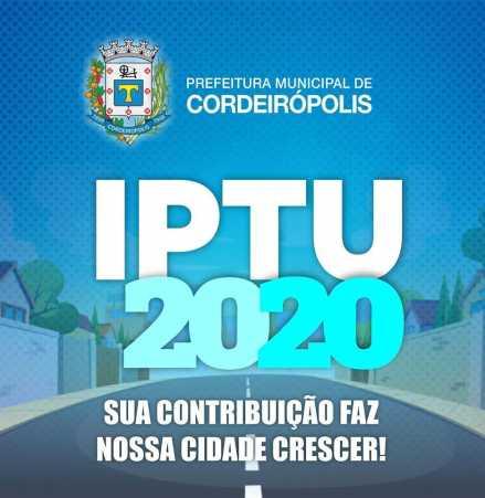 Saiba quais locais você pode pagar o IPTU de Cordeirópolis