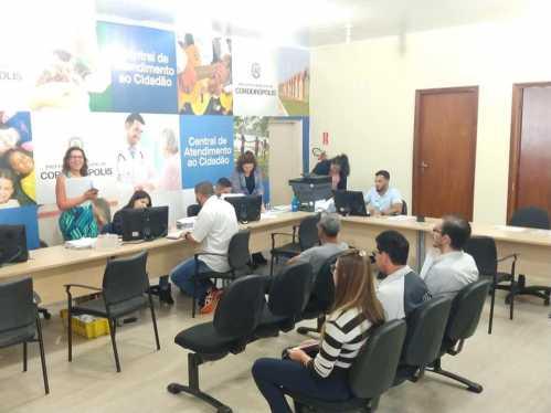 Prefeitura realiza levantamento dos serviços da Central de Atendimento ao Cidadão