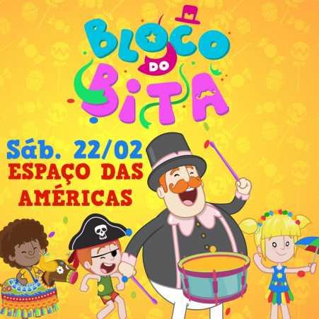 Bloco do Bita chega à São Paulo para animar o carnaval do Espaço das Américas