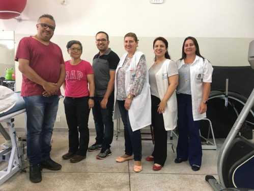 Centro de fisioterapia recebe pesquisadores da UNESP Rio Claro